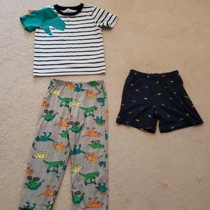 Carter's Toddler Boy 5T 3PC Dino Pajama Set